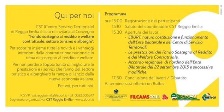 Convegno CST EBURT Reggio Emilia